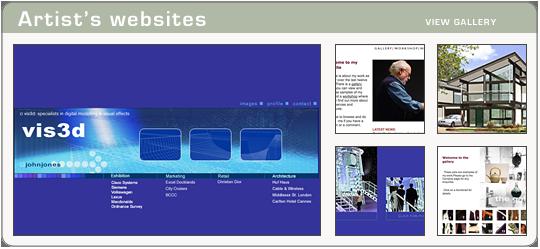 Artist's Websites